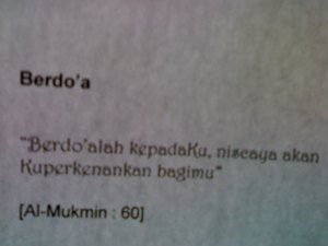 "Do'a - Usaha - Ikhlas - Tawakkal (""Do Unify Idea Technology"")"
